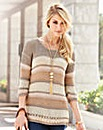 JOANNA HOPE Stripe Jumper