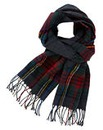Label J Checked Scarf