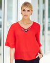 JOANNA HOPE Necklace Top