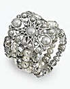 JOANNA HOPE Bead and Faux Pearl Braclet