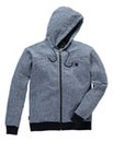 Voi North Blue Marl Hooded Sweat