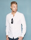 Flintoff by Jacamo L/S Printed Shirt Reg