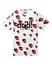 Weekend Offender Ani Strawberry Tee L