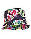 Label J Tropical Print Bucket Hat