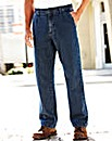 UNION BLUES Side Elasticated Jeans 27in
