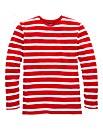 Southbay Unisex L/S Stripe T-Shirt