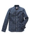 Lambretta Shadow Multi Check Shirt Long