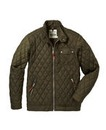 Jacamo Khaki Quilted Jacket Long