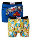 Simpsons Multi Pack Of 2 Boxers