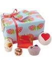 Bath Bomb Strawberry Patch Set