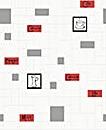 Contour Cappuccino Rouge& Noir Wallpaper