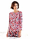 Nightingales Floral Border Tunic