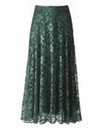 Green Lace Skirt