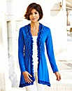Nightingales Ruffle Cardigan