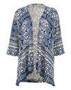Nightingales Kimono Aztec Cardigan