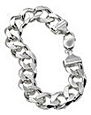 Gents Sterling Silver 2oz Bracelet