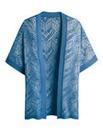 Open Knit Kimono Cardigan
