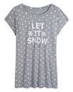 Christmas Let It Snow Tee