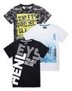 Henleys Boys Pack of Three T-Shirts
