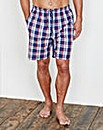 Southbay Poplin Check Lounge Shorts