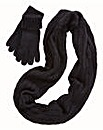 Snood and Glove Set