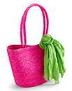 Beach Bag With Scarf