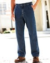UNION BLUES Side Elasticated Jeans 29in