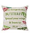 Fly like a Butterfly Cushion