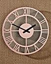 Copper Finish Wall Clock 30cm