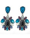 Mood Crystal Oval Drop Earring