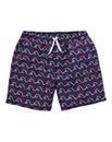 WILLIAMS & BROWN Print Swimshorts
