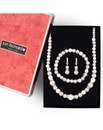 Jon Richard Pastel pearl jewellery set