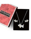 Jon Richard scotty dog jewellery set