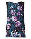 Jade Floral Woven Front Vest