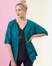 Jade Jersey Jacquard Kimono