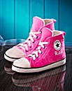 Personalised Pink Ladies Slipper Boots