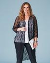 Lovedrobe Lace Kimono Shrug