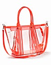 Perspex Shoulder Bag