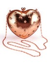 Heart Box Clutch Bag