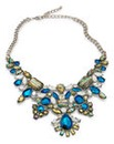 Iridescent Stone Statement Neckalce