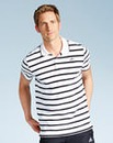 adidas Striped Polo Shirt