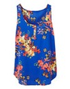 Scoop Neck Butterfly Vest