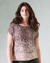 Ombre Sequin Shell Top