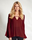V Neck Boho Sleeve Tunic