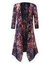 Longline Chiffon Kimono