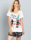 Minnie and Mickey Shortie Pyjamas