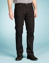 UNION BLUES Black Gaberdine Jeans 31 In