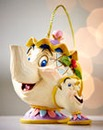Mrs Potts & Chips Hanging Ornament