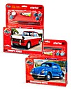 Airfix Triumph Hearald & VW Beetle Set