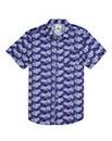 Kayak Mighty Hawaiian Print Shirt